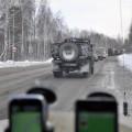 Atacam traversarea Uralilor, incolonati cu sute de camioane de toate felurile