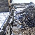 Cele mai importante elemente vitale, lemnul de foc si conducta de agent termic..
