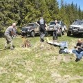 Mic picnic pe culmea Prejba-Voinesita - 11 mai 2014