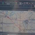 Navigatia fara copilot, care doarme de obicei. Pe ruseste.