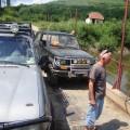 Nici acum nu am renuntat,  am trecut Muresul si dupa reparatii rapide am pornit din nou.
