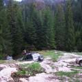 O coborare catre Cascada Rachitele