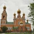 pe langa urmele trecerii rusesti. O biserica in Atyrau.