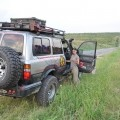si Toyota cea curata, gata de drum drept peste dealuri.